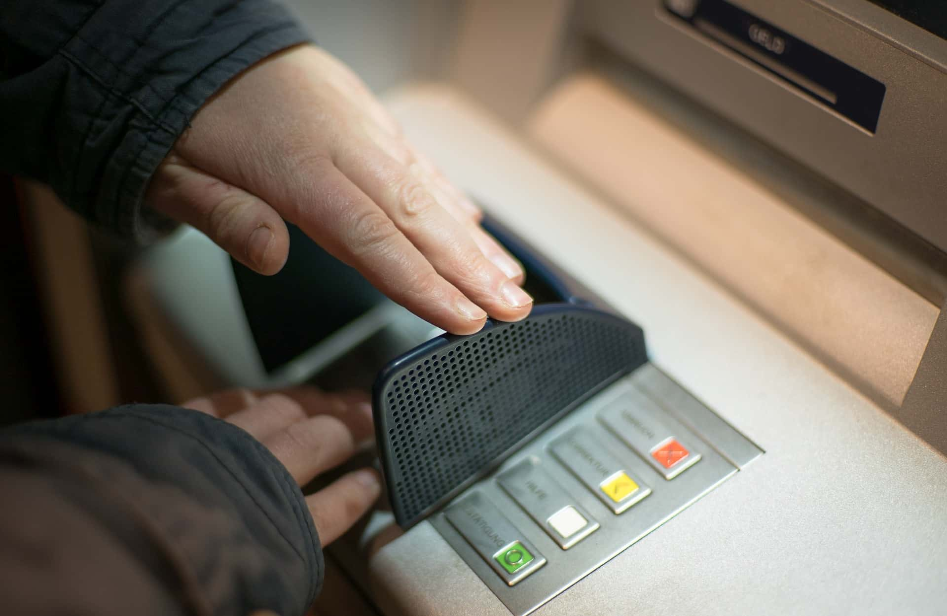 Skimming hardware mimics ATM's keyboard