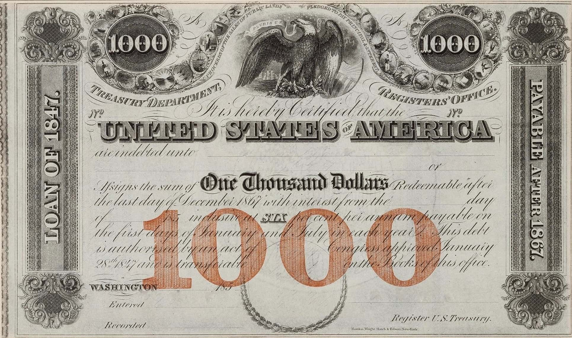 An example of war bond